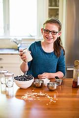 blueberry oatmeal beauty