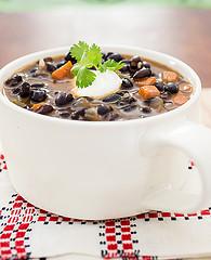 black bean soup beauty