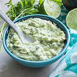 avocado dip beauty