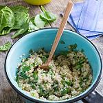 green oatmeal beauty