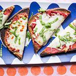 pizza toast beauty