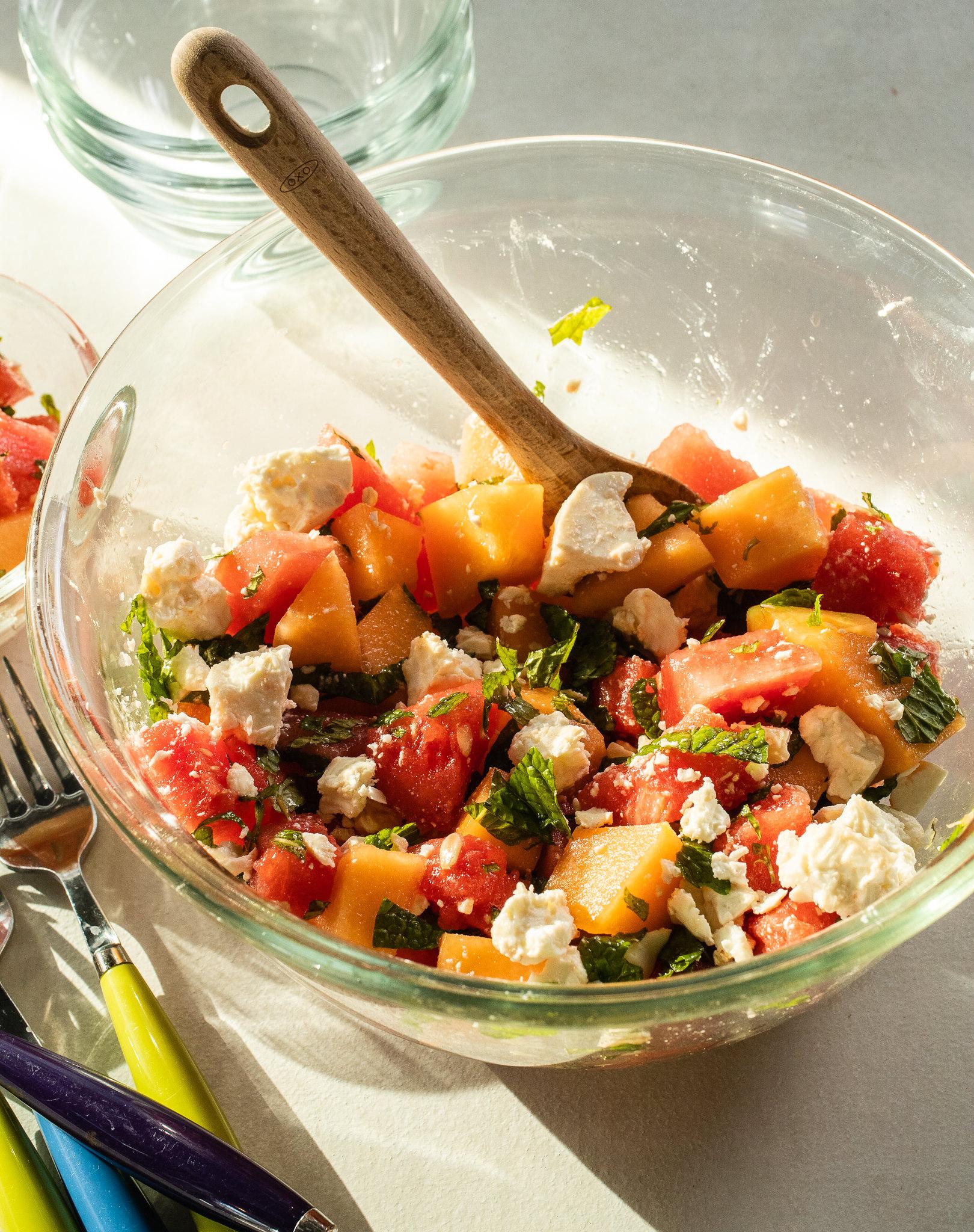 Double-Melon Salad