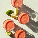 Watermelon Juice with Lime